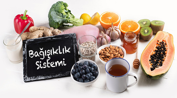 Antiviral - Antienflamatuar - Antioksidan Besinler